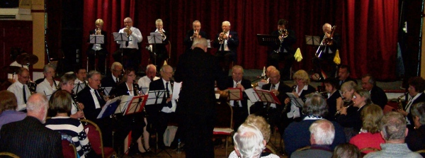 Remembrance Concert at Broadstairs Pavilion 8th November 2015